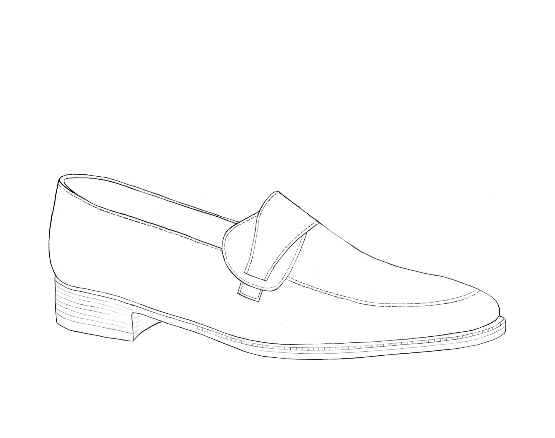 Loafer Bar Illustration Shoe Gilbert & Bailey